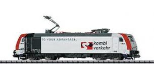 "Minitrix 16902 N Gauge BR 185 ""Kombiverkehr"" Electric Locomotive"